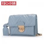 กระเป๋า Axixi พร้อมส่ง รหัส NM12141 สีฟ้า ใบเล็ก แบบสะพายข้างผู้หญิง ดูดีค่ะ