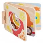 ของเล่นไม้ ของเล่นเด็ก ของเล่นเสริมพัฒนาการ Mirror Baby Book นิทานหนูน้อย (ส่งฟรี)