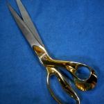 กรรไกรตัดผ้าสแตนเลสขนาด 10.7 นิ้ว DE XIAN