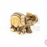 หินออร์ทั่ม แจสเปอร์ ช้าง 24X50มิล (1ชิ้น)