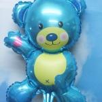 ลูกโป่งฟลอย์รูปหมี ไซส์เล็ก (สำหรับอัดลมเท่านั้น) *มี 2 สี กรุณาระบุสีที่ต้องการเมื่อทำการสั่งซื้อ* / Item No. TL-B040