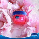 Vaseline Lip Therapy 7g #Rosy Lips ลิปบาล์มวาสลีนไซส์มินิ บำรุงเรียวปากให้เนียนนุ่มชุ่มชื่นอวบอิ่มสุขภาพดี