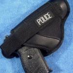 ซองปืนสำหรับปืนรีวอลเวอร์ลำกล้อง 2 นิ้ว สีดำ