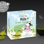 สบู่น้ำนม ผสมสารสกัดจากชาเขียว Milk Green Tea Soa