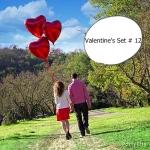 วาเลนไทน์ Valentine's Set # 12 *สามารถเลือกเปลี่ยน สีได้ตามความต้องการ*