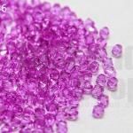 คริสตัลพลาสติก สีม่วงอ่อน 4มิล(100กรัม)(4,509เม็ด)