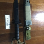 jungle king 1 survival knife Sheath Plus Survival Kit