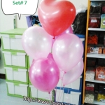 วาเลนไทน์ Valentine's Set # 7 *สามารถเลือกเปลี่ยน สีได้ตามความต้องการ*