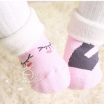 ถุงเท้าเด็กกันลื่นอย่างหนา ไซส์ 10-12,12-14 ซม. MSH66