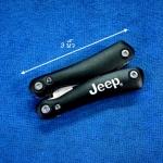ชุดเครื่องมือเล็กที่จำเป็นสำหรับพกพา 12 in 1 Jeep