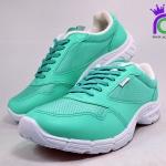 รองเท้า ผ้าใบ Giga กิ๊กก้า รุ่น LA408 สีเขียว เบอร์36-41