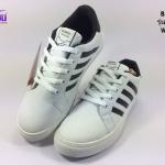 รองเท้าผ้าใบ BUMEI สีขาว รุ่นG046 เบอร์36-41