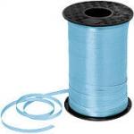 ริบบิ้นม้วนใหญ่ สีฟ้าอ่อน สำหรับผูกลูกโป่ง ยาว 350 เมตร - Light Blue Curling Ribbon