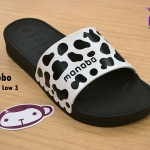 รองเท้าแตะ Monobo Jello โมโนโบ้ รุ่น Twist Low 2 สวม สีดำ เบอร์ 5-8