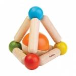 ของเล่นไม้ ของเล่นเด็ก ของเล่นเสริมพัฒนาการ Triangle Clutching Toy ปิรามิดแสนกล (ส่งฟรี)