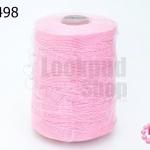 เชือกเทียน ตราน้ำเต้า สีชมพู #933 (1ม้วน)