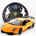 Lamborghini รถบังคับด้วยพวงมาลัย - สีเหลือง