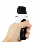 ไมโครโฟนคาราโอเกะสำหรับสมาร์ทโฟน ปล่อยพลังเสียงให้สุดพลัง Mini Mobile phone Karaoke Microphone For portable audio recording, DIY KTV & Karaoke-support for iPhone ipad PC laptop