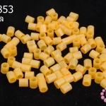 เม็ดบีทรีดร้อน สีส้มอ่อน 5 มิล (1ขีด/100กรัม)