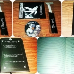 สมุดเดธโน๊ต แถมฟรีแผ่นซีดี เพลงในเรื่องเดธโน็ต มีทั้งหมด 15 เพลง มาพร้อมปากกาขนนก (สินค้ามีจำนวนจำกัด)