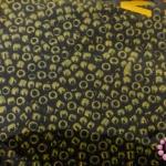 ลูกปัด MATSUNO สีสนิมเหลือบมุก 2มิล(100กรัม)