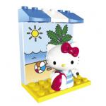 Hello Kitty Beach เมก้าบล๊อค MG10853 [ส่งฟรี]