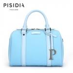 กระเป๋าแบรนด์เนม PISIDIA รุ่น WELKIN สีฟ้า (ส่งฟรี EMS)