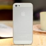 ** หมดค่ะ ** เคส iPhone 5 Cover สีขาวใส
