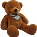 ตุ๊กตาหมียิ้ม ตุ๊กตาตัวใหญ่ สีน้ำตาลเข้ม ขนาด 1.2 เมตร