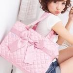 リボンバッグ Ribbon Bag By YingGoogle กระเป๋าผ้าริบบิ้่นสุดน่ารัก ฮิตสุดๆ ในญี่ปุ่นและเกาหลี แอร์โฮสเตส JAL ถือกันทุกคน คุณล่ะ ?? มีรึยัง ??
