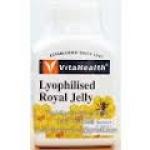 VitaHealth lyophilized Royal Jelly ไวต้าเฮลธ์ รอยัล เยลลี บรรจุ 30 เม็ด ควบคุมสมดุลฮอร์โมนเพศ คงความหนุ่มสาวและอ่อนวัย