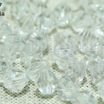 คริสตัลพลาสติก สีขาว 6มิล (1,232เม็ด)