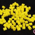 เม็ดบีทรีดร้อน สีเหลือง 5 มิล (1ขีด/1,820ชิ้น)