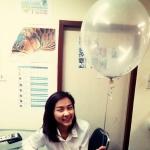 """ลูกโป่งกลม สีใส (ไม่มีสี) ไซส์ 18 นิ้ว จำนวน 1 ใบ (Round Balloon - Clear Color 18"""")"""