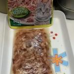 อาหารแมวเป็นซองเพาว์ขนาด 70 กรัม เนื้อปลาทูน่าเนื้อขาว-ใน เจลลี่ แพค 100 ซอง(รวมจัดส่งทั่วไทย)