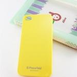 Case iPhone 5 PhoneAdd Pastel Hardcase เคสสัญชาติเกาหลีสีพาสเทลสุดหวาน / เหลือง