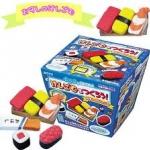 Kutsuwa eraser kit : ชุดทำยางลบ ซูชิ (ใช้ไมโครเวฟ) !!!ทานไม่ได้!!!