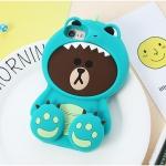 ** พร้อมส่งค่ะ **เคส iPhone 7 Plus หมีบราวน์ไดโนเสาร์