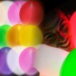 ลูกโป่ง LED สีขาว แพ็ค 5 ชิ้น ไฟสลับสี RGB mode (LED White Balloon - LED RGB Mode)