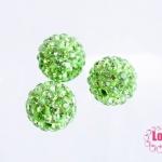 บอลเพชร เกรดดี 12 มิล สีเขียว