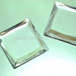 เพชรแต่ง ทรงสี่เหลี่ยม สีเพชร แบบไม่มีรู ขนาด 39x39x5 มิล 1 อัน