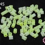 เม็ดบีทรีดร้อน สีเขียวอ่อนใส 5 มิล (1ขีด/1,775ชิ้น)