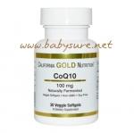 โคเอ็นไซม์คิวเท็น (CoQ10) California Gold Nutrition 100 มิลลิกรัม – 30 เม็ด
