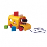 ของเล่นเด็ก ของเล่นเสริมพัฒนาการ รถบัสหยอดรูปทรง Sorting Bus (ส่งฟรี)