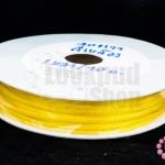 เชือกหางหนู สีเหลือง 3มิล(1หลา/90ซม.)