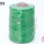 เชือกเทียน ตราน้ำเต้า สีเขียว #909 (1ม้วน)