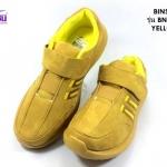 รองเท้าผ้าใบ BIMSIN (บินซิน) สีเหลือง รุ่นBNS539 เบอร์36-41