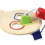 ของเล่นไม้ ของเล่นเด็ก ของเล่นเสริมพัฒนาการ First Shape Sorter ถาดเรียงร้อยรูปทรง (ส่งฟรี)