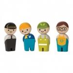 ของเล่นไม้ ของเล่นเด็ก ของเล่นเสริมพัฒนาการ Service Crew ชุดพนักงานบริการ (ส่งฟรี)
