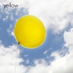 ลูกโป่งจัมโบ้ สีเหลือง ขนาด 36 นิ้ว - Round Jumbo Balloon Yellow